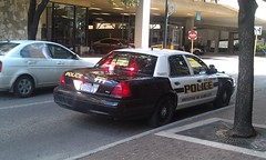 San Antonio PD (ynkefan1) Tags: white black ford san texas police victoria crown antonio department interceptor cvpi sliktop