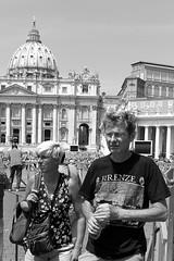 disorientated (@ntomarto) Tags: street city urban blackandwhite bw italy vatican rome roma strada italia citylife tourist vaticano urbano sanpietro biancoenero turisti citt antomarto ntomarto