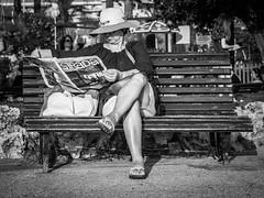 La Strada (totofffff) Tags: strada cannes croisette france french riviera street alpes maritimes mditerrane noir blanc black white festival film olympus om d e 10 mark ii 2