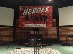 Large Heroes Banner (pipandersonsc1) Tags: banner vinyl church graphics sermon series signs printing anderson sc pip