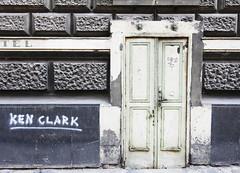 Home Of Ken Clark (C_MC_FL) Tags: door facade architecture street streetphotography closed building canon eos 60d tamron b008 18270 city vienna fassade architektur verschlosen gebude stadt wien fotografie photography tag tr graffiti