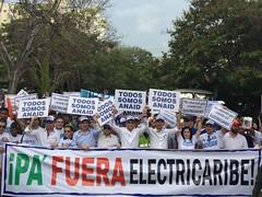Marcha Electricaribe