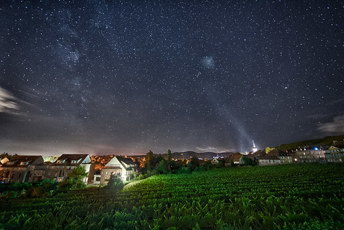 Summer night in Alsace