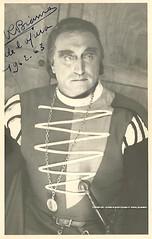 BIANCO, Ren, Valentin, Faust, Opra Comique, 1962-1963 (Operabilia) Tags: opera autograph claudepascalperna renbianco baritone faust valentin gounod opracomique