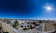 Tarifa Love (Javier Balanzat Duque) Tags: landscape paisjae urban city pueblo pano cielo sky blue cadiz tarifa