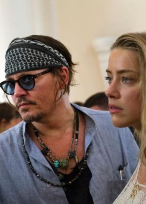 Site divulga vídeo de Jonhy Depp sendo agressivo com sua ex-mulher