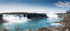 Niagara Falls pano (freshwater2006) Tags: canada d7100 nikon niagarafalls ontario canad ca pano panorama unitedstates us
