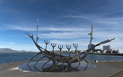 The Sun Voyager (Luis R.C.) Tags: slfar islandia iceland viajes paisajes nikon d610