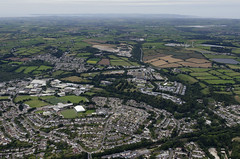 Falmouth Penryn College and uni (John D F) Tags: aerial aerialphotography aerialimage aerialphotograph aerialimagesuk aerialview droneview falmouth cornwall penryn falmouthuniversity penryncollege