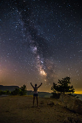 Welcome to the space (Vagelis Pikoulas) Tags: stars star canon 6d tokina 1628mm view night nightscape space universe galaxy milky milkyway way long exposure summer 2016 porto germeno greece sky europe selfshot selfie