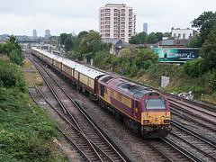 At the Rear (McTumshie) Tags: 20160910 67016 belmondbritishpullman norwoodjunction southnorwood class67 locomotive railway train london england unitedkingdom