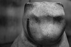 Headshot (photomatic.se) Tags: ifttt 500px figurine shot dramatic abstract black white sweden concrete scary headshot
