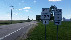 009-122w (paulthemapguy) Tags: 122 9 illinois highway route sign