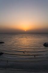 The Sunset II (Emi.R.) Tags: sun summer beach landscape sunset travel gulf sky ocean ajman sea uae shore
