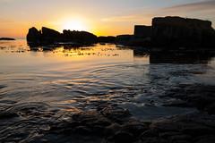 Rocks at Sunrise (Infomastern) Tags: simrishamn vrhallarna cloud dawn goldenhour gryning gyllenetimmen hav rock sea sky soluppgng sten sunrise vatten water exif:model=canoneos760d geocountry camera:make=canon exif:isospeed=100 camera:model=canoneos760d exif:focallength=18mm geostate geolocation exif:lens=efs18200mmf3556is geocity exif:aperture=63 exif:make=canon