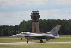 F-16C, Shaw AFB, South Carolina, Spring 2016, (2) (hondagl1800) Tags: f16c shawafb southcarolina spring2016 f16 fightingfalcon fighterjet aircraft airplane outdoor vehicle militaryaircraft