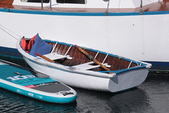 "IMG_2263 - Port Townsend WA - Port Hudson Marina - 2016 40th Annual Wooden Boat Festival - SV LORELEI's Penn Yann dinghy (BlackShoe1) Tags: washington wa washingtonstate olympicpeninsula porttownsendwa boat boatfestival woodenboat classicwoodenboat woodboat ""northwest maritime center"" ""wooden foundation"" wbf nwmc ""port hudson"" wash pacificnorthwest pugetsound jeffersoncounty eastjeffersoncounty quimperpeninsula porttownsend victorianseaport"