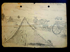 drawing from stalingrad (michael pollak) Tags: drawing war zeichnung krieg stalingrad russland ww2 worldwar2 zweiterweltkrieg weltkrieg germans