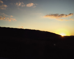 Sundown (<be>) Tags: sunset sunsetting sun clouds sky orange sundown
