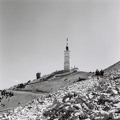 Mont Ventoux on film (mjjmartinlux) Tags: mediumformat rollei analogue film mjjmartinlux bw ventoux provence france tlr