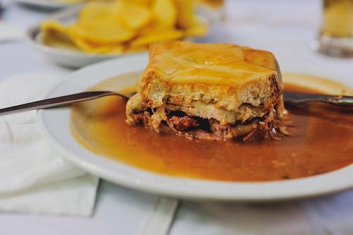 francesinha @ Restaurante A Regaleira, Porto