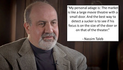 Nassim Taleb on How The Stock Market Works (exploringmarkets) Tags: black swan finance investing nassim taleb quotes philosophy pictar stock market stocks traders trading