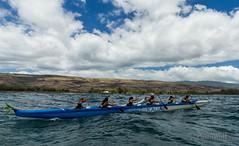 Kekaha - Near the Finish (poidawgie) Tags: 2016 canoes canon6d hawaii kauai napalichallenge outrigger racing