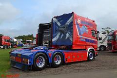 Scania Longline 'Stuart Nicol Transport' (erfmike51) Tags: scanialongline artic truck lorry streamline v8 stuartnicoltransport swedefest2016