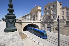 Arc de triomphe (Tim Boric) Tags: pontvialleton tam strassenbahn streetcar tramway tram peyrou arcdetriomphe montpellier
