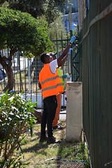 Kennedy3 (Genova citt digitale) Tags: richiedenti asilo genova piazzale kennedy agosto 2016 volontari nigeria lavoro ilva
