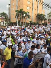 Barranquilla marcha Electricaribe