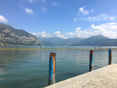 (Paolo Cozzarizza) Tags: italia lombardia brescia iseo acqua lago lungolago panorama cielo molo