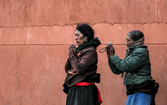 Faith (Redust) Tags: faith tibetan buddhism devotee pray chia xiahe china labrtngmonastery women