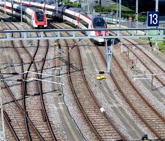 Graceful curves (oobwoodman) Tags: switzerland suisse schweiz geneva genve genf sbb cff ffs train zug railway railroad rails gleise tracks schienen 13