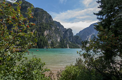V-View (Marco Micheli) Tags: landscape panorama lake lago mountain dolomites montagna nikon d90 tokina 1116 water acqua vista view natura nature estate summer