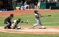 Hanley Ramirez (BOS) - Swing and Miss - See the Ball (BlueVoter - thanks for 1.5M views) Tags: baseball beisbol redsox oakland hanleyramirez