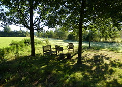 Take a seat (joeke pieters) Tags: 1290563 panasonicdmcfz150 stoel stoelen chair chairs zitje dappled landschap landscape landschaft paysage