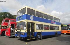 B521 UWW (jeff.day48) Tags: 421 yorkshirecoastliner leyland olympian ecw 2016showbusdoningtonpark mickpearson preserved b521 uww