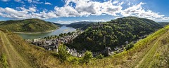 Bacharach Panorama (Pix-elist) Tags: panorama bacharach wine valley middle rhina rhein rhine river fluss weinstadt burg castle stahleck