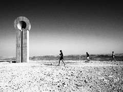 *** (Boris Rozenberg) Tags: desert water sand snap snapshot streetphotography blackwhite blackandwhite blackandwhitephotography bw olympus olympuspen pen ep2 primelens prime 17mm landscape people walking monument history architecture monochrome motherland dry stones trip journey mitzperamon life pov harmonie silence