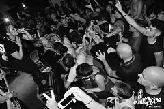 The Interrupters al Decibel (settembre 2016) (Matt FCSP Murphys) Tags: interrupters ska punk losangeles bolgia pit bw sudore pain happy aimeeallen bivona kevin jesse justin decibel magenta