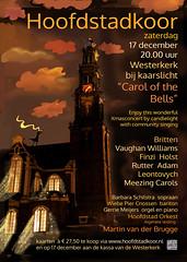 "Poster made by me for ""het Hoofdstadkoor"" Amsterdam 2016 (Maria Emanuela) Tags: maaikeputmandesign hoofdstadkoor communitysinginginthewesterkerkamsterdam westerkerk"