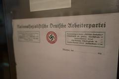 Nazi letterhead (quinet) Tags: 2013 allemagne deutschland germany hakenkreuz munichstatemuseum mnchen nsdap rassismus stadtmuseummunich nazi racism racisme svastika swastika munich bavaria