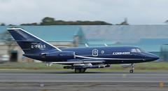 G-FRAS Cobham Aviation Services,Dassault Falcon 20-DC,Glasgow Prestwick 11/10/16 (BS Images.) Tags: dassault falcon cobham jointwarrior jointwarrior2016 bizjet egpk glasgowprestwick gpa pik prestwick prestwickairport airport aircraft aviation ayrshire southayrshire scotland