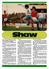 Coventry City vs Manchester United - 1981 - Page 25 (The Sky Strikers) Tags: coventry city manchester united highfield road sky blue official matchday magazine 30p football league division one