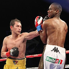 Nonito Donaire breaks Mathebula jaw to become the WBO & IBF bantamweight champion of the world . (Boxing Photos) Tags: donaire nonito boxing salazar pinoy boxeo