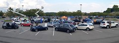 Panoramic stitch (TNCleanFuels) Tags: 2016 national drive electric week knoxville tn tennessee east clean fuels coalition volunteers keva vehicle association turkey creek eric cardwell jonathan overly melissa goldberg hybrid plug ev pev phev plugin etcleanfuels test learn gas petroleum cities
