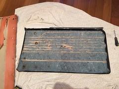Driver door card skin. (Guger81) Tags: bmw2002 doorcard plywood