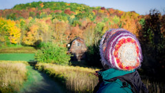 Mom looking back at the beauty (joshsikora) Tags: upstate upstateny upstatenewyork otsegocounty otsegocountyny otsegocountynewyork catskills catskillmountians changingcolors fall autumn rollinghills jsphotography sunrise