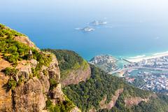 IMG_5091 (sergeysemendyaev) Tags: 2016 rio riodejaneiro brazil pedradagavea    hiking adventure best    travel nature   landscape scenery rock mountain    high forest  ocean   blue serenity    beautiful beauty